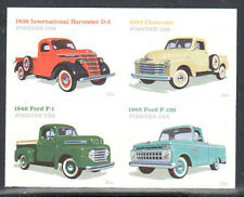 SC#5104a - Forever (49c) - Pick Up Trucks Double-Sided Booklet Pane of 8 MNH