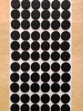 "72 1/2"" Black Felt Dots Surface Protector Pad Trophy Cabinet Furniture Crafts"