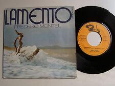 """FREDERIC MONTEIL: Lamento 7"""" 45T 1972 French BARCLAY 61604 dir SAM FENERING"""