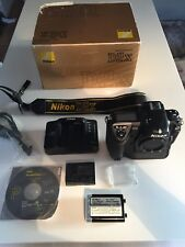 Nikon D2x Body with Spare Battery Charger ~ Focus & View Screen HARDLY USED