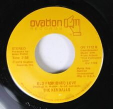 Country 45 The Kendalls - Old Fashioned Love / Sweet Desire On Ovation Records