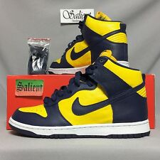 Nike Dunk Retro Qs UK8 850477-700 Varsity EUR42.5 US9 alta Force Baja SB 1 Air