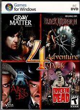 GRAY MATTER by Jane Jensen + BLACK MIRROR 2  PC Game 4 PACK DVD-ROM NEW