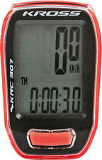 NEW KROSS KRC 307 bicycle counter,Rider Computer For Bicycles, RED/BLACK