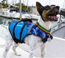 Playapup Dog Winter Life Jacket PFD - Pet Swimming Safety Vest Flotation Device