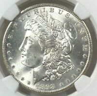 1898 O NGC MS65+ Morgan Silver Dollar $1 ~ Exceptional Strike & Luster 65+ Plus!