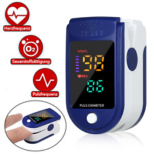 Finger Pulsoximeter Sauerstoff Puls Blut Messgerät SpO-2 Oximeter Pulsoxymeter