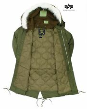 Fishtail Parka Genuine Original US Alpha Industries M65 Jacket Hooded Army Coat