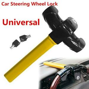 Heavy Duty Security Device Car Steering Wheel Security Lock Anti Theft Lock&Keys