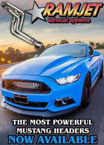 Mustang GT REX Ford 15-21' - Double Step 1-7/8 Headers & Cats