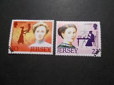 Jersey 1996 Commemorative Stamps~Europa Women~Very Fine Used Set~UK Seller