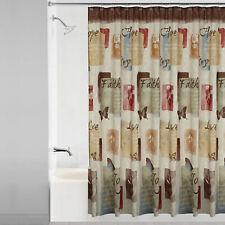 Faith, Hope, Love, Joy, Fabric Shower Curtain &/Or Accessories, Biblical, Choice
