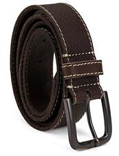 Timberland 40mm Oily Milled Urban Casual Genuine Leather Brown Belt B75451/01