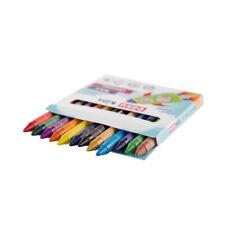 Wachsmalstifte zum Wechseln in sechs verschiedenen Farben ideal für die Schule