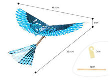 RUBBER BAND POWERED ORNITHOPTER PLANE FLAPPING BIRD MECHANICAL WINGS