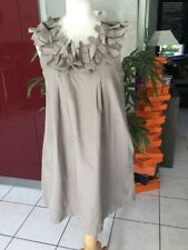 Robe XANAKA taille 38/40 beige impeccable