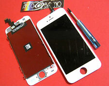 PR1 DISPLAY LCD+TOUCH SCREEN PER APPLE IPHONE 5S RETINA A1453 A1457 A1518 BIANCO