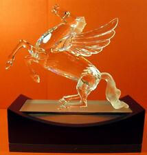 "1998 Swarovski Silver Crystal Figurine ""The Pegasus"" Brand New"