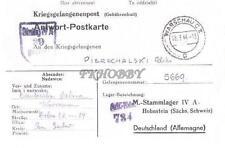 Camp Stalag IVA Hohnstein 1944 POW Prisoner of War Kriegsgefangenenpost (K39)