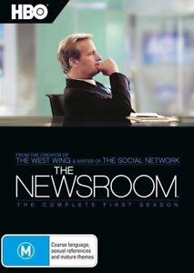 The Newsroom : Season 1 (DVD, 2013, 4-Disc Set) new sealed