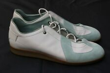 Mens Gucci GAT German Army Trainers Sneakers Gray Leather Italy 13 Shoes