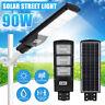 90W 180LED Solar Street Light Radar PIR Motion Sensor Wall Timing Lamp + Remote