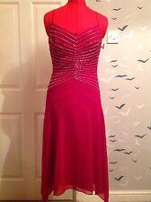 Art Deco 20s Debut (designers at debenhams) sequinned evening dress 10, 38 Vgc