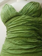 UK6 MONSOON Sexy Designer Silk Mix Fashion Ballgown Debut Party Dress