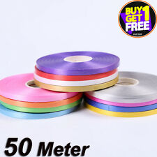 50 METERS BALLOON CURLING RIBBON FOR PARTY GIFT WRAPPING BALLOONS STRING TIE new