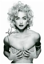 More details for (299) madonna signed a4 photograph great gift (reprint) @@@@@@@@