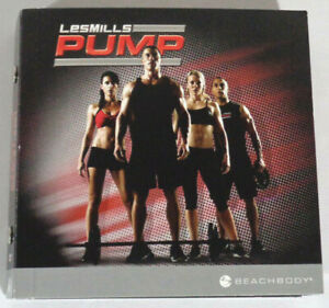 Les Mills Pump 7-Disc DVD Set Workout Exercise Training Burn Shred Abs Flow