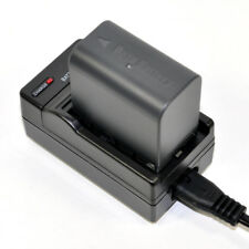 Charger + 2400mAh Battery for JVC BN-VF823 GZ-MG130 GZ-MG135 GZ-HM400 Camcorder
