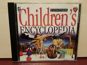 Eyewitness Children's Encyclopedia For Ages 7-11 - PC CD ROM Software - (M9)
