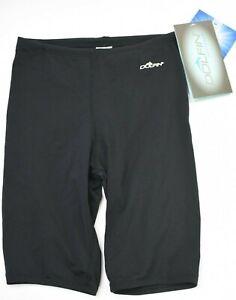 Dolfin Swimwear Reliance Chlorine Resistant Black Jammer Size 26