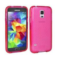 Tech21 Impact Herringbone Case Cover for Samsung Galaxy S5 - Pink