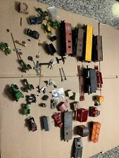 HO Train Model Lot  Mixed Different Pieces New And Used  Lot Parts See Pictures