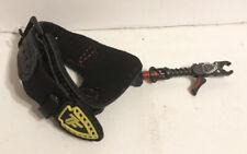 Trufire Bulldog Buckle Foldback Archery Compound Bow Release - Black and Red