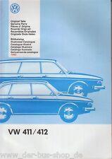 VW typ4/tipo 4-Guida di riparazione-immagine catalogo/catalogo parti di ricambio inutilizzato