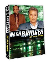 NASH BRIDGES : THE FIFTH SEASON 5 DON JOHNSON NEW SEALED 5-DISC-SET NEW  DVD