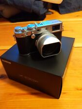 fujifilm x100f in silver- open box and in perfect condition. Lens hood in silver