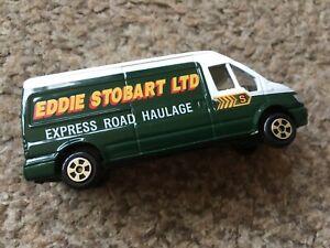 CORGI SCALE MODEL EDDIE STOBART FORD TRANSIT EXPRESS ROAD HAULAGE VAN UNBOXED