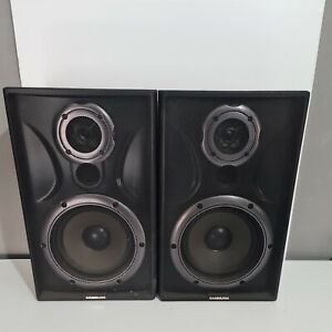Vintage Retro Samsung Speakers PS-8100E X2  40Watts Tested Working Free Postage