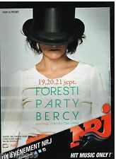 Publicité Advertising 2012 Spectacle Florence Foresti Party Bercy