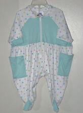 KIDS CLUB Size Small Girls Multi-Color Polka Dot Short Sleeve Bodysuit Romper