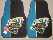2 New JACKSONVILLE JAGUARS Auto FLOOR MATS Car Truck RUG Carpet FLOORMATS - TEAL