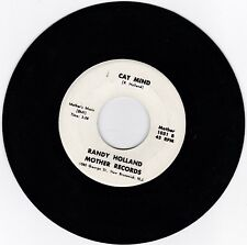 FOLK PSYCH 45RPM - RANDY HOLLAND ON MOTHER RECORDS - RARE!  BEAUTIFUL COPY!!!