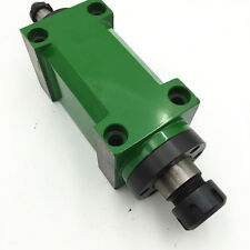 ER25 Spindle Unit 2HP  3000rpm Power Head 80mm Flange for CNC Milling Machine
