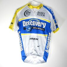 Nike DRI-FIT Discovery Channel Cycling Bicycle Jersey Mens Size M Made in Italy