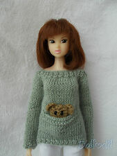 sweater pocket available for  Blythe,Pullip, Momoko, bjd, fashion royalty,barbie