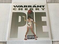 WARRANT-CHERRY PIE-*FACTORY SEALED LP* *RARE RED VINYL*  MEGAFORCE RECORDS 2018